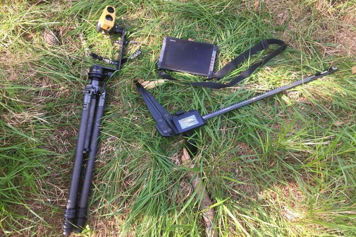 Alquiler de equipos de medición Field-Map para inventario forestal