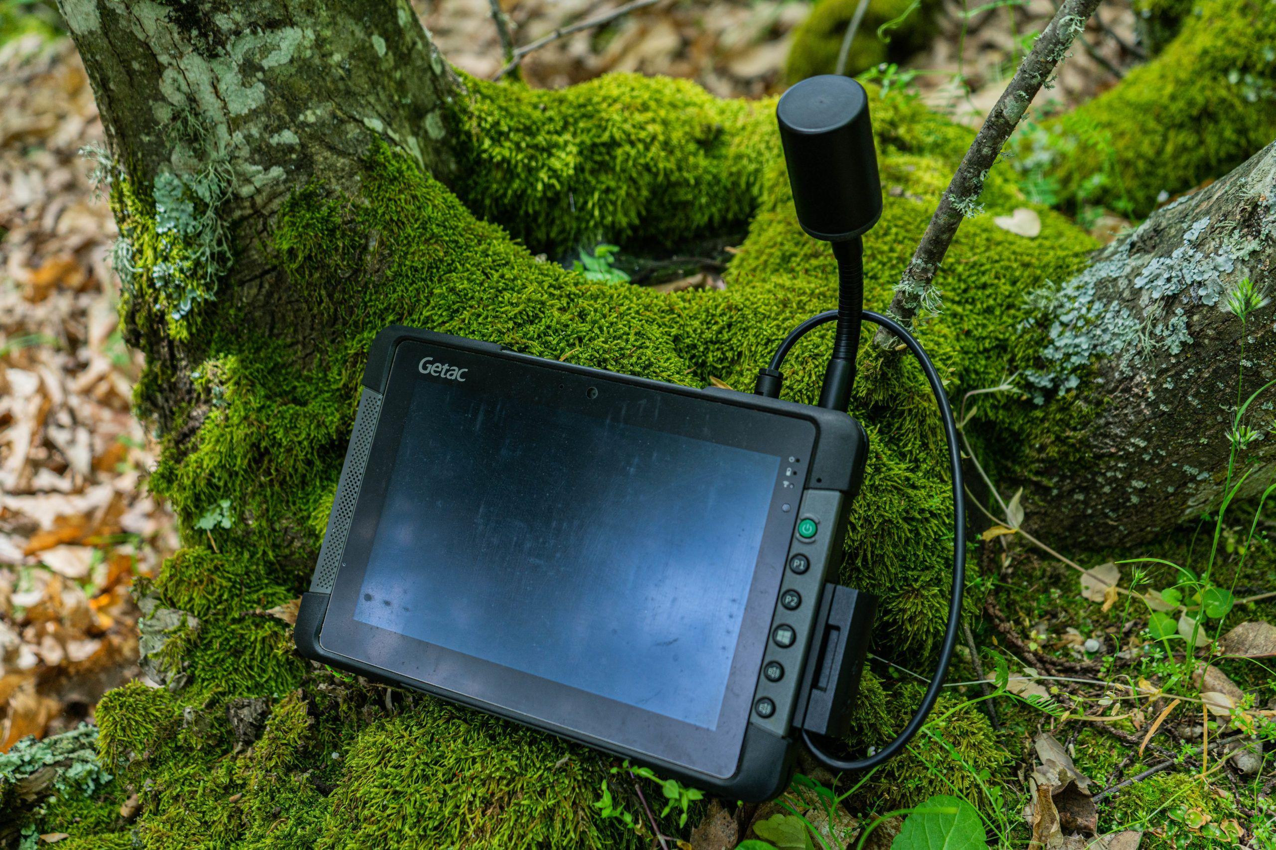 Tablet Getac T800 con GPS PPM 10XX, Field-Map Forest Colelctor