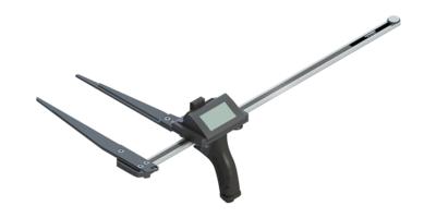Forcípula de gama profesional rugerizada BT Caliper