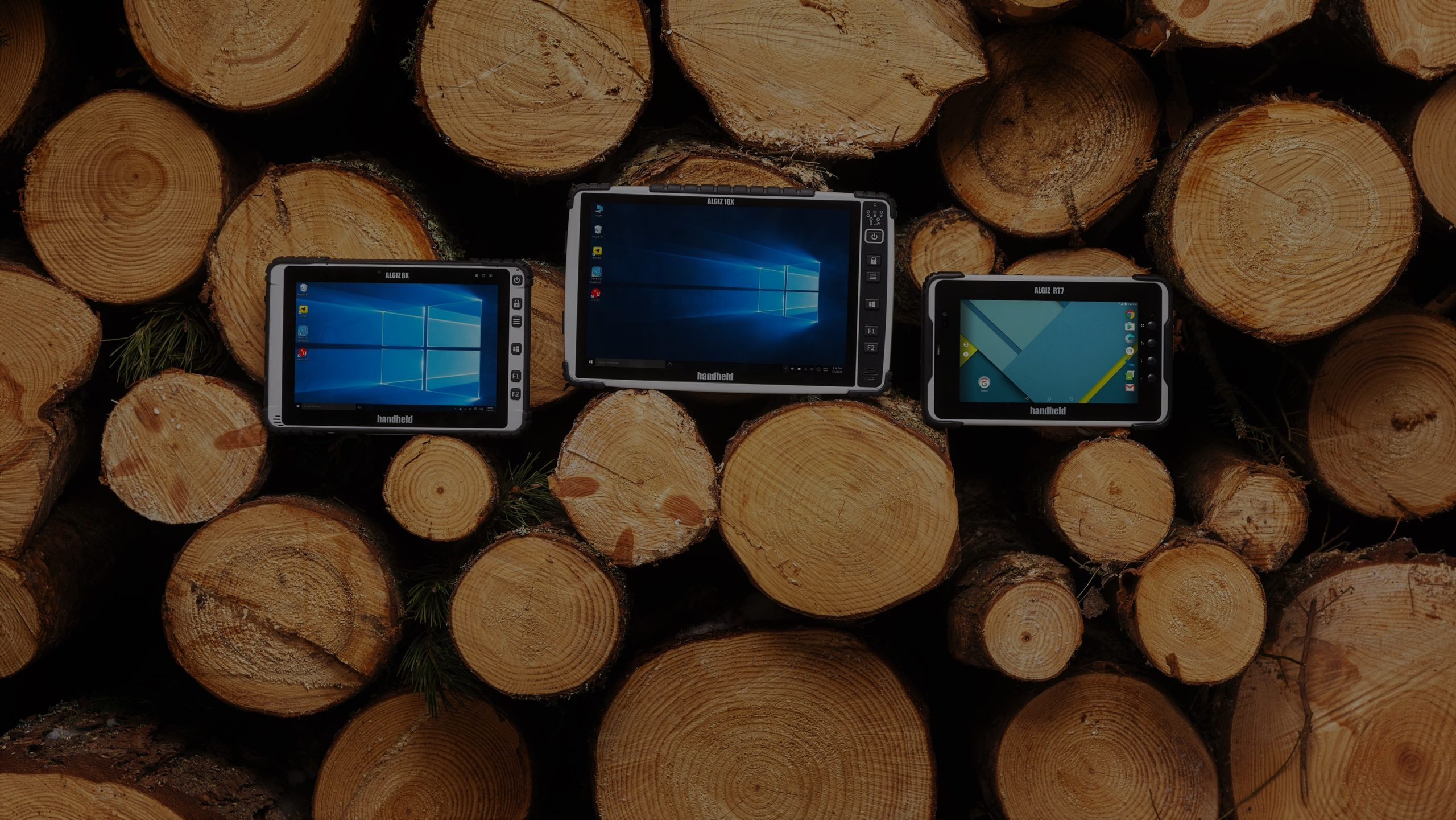 Tablets y PDA robustas para trabajo de campo, industria y logística