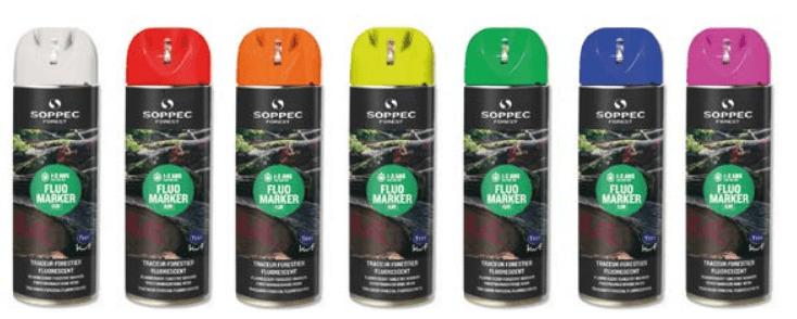 Marcador forestal Fluo Marker