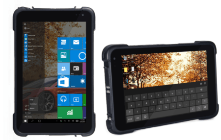 Tablet rugerizada de gama profesional BMK XT8W