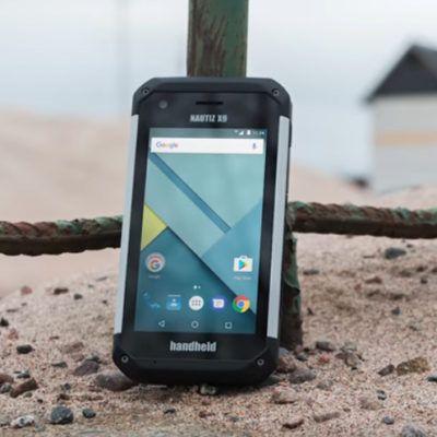 PDA rugerizada Handheld Nautiz X9