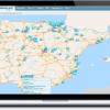 GPS localizador para vehículos todoterreno